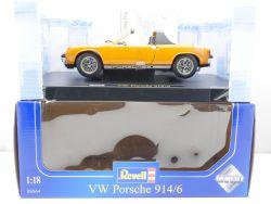 Revell 08864 Metal VW Porsche 914/6  Modellauto 1:18 NEU! OVP