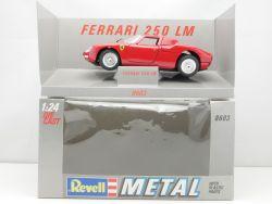 Revell 8603 Metal Ferrari 250 LM NART Modellauto 1:24 TOP! OVP