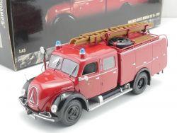 Minichamps 439141070 Magirus Merkur TLF 16 Feuerwehr Ulm-Do. OVP