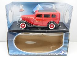 Solido 8066 Ford Sedan 1934 FDNY Engine27 Feuerwehr USA 1/18 OVP