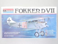 Monogram 5203 Fokker D VII Doppeldecker Deutschland 1:48 NEU OVP