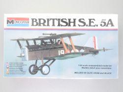 Monogram 5205 British S.E. 5A Doppeldecker England 1:48 NEU! OVP