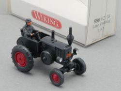 Wiking 8800218 Lanz Bulldog mit Fahrer Traktor 1:87 NEU! OVP