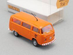 Brekina 93319 Rheinbahn Düsseldorf 9396 VW T2  Bus H0 NEU! OVP