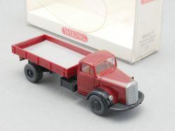 Wiking 8950222 Mercedes MB L 6600 Rot Pritschenkipper NEU OVP