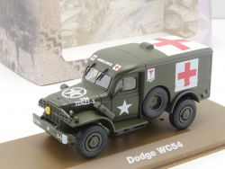 Atlas 6690031 Dodge WC54 Ambulance UD Army USA WWII 1:43 NEU OVP