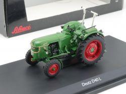 Schuco 03355 Deutz D40 L Traktor Schlepper Bulldog 1:43 NEU! OVP