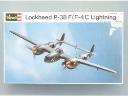 Revell H-216 Lockheed P-38 Lightning Bausatz 1:72 Kit NEU OVP
