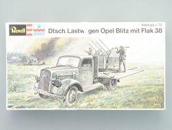 Revell H-2353 Lastwagen Opel Blitz mit Flak 38 1:72 TOP OVP