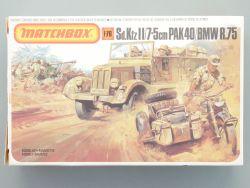 Matchbox PK-171 Sd.Kfz II 7.5cm Pak 40 BMW Diorama 1:76 TOP! OVP