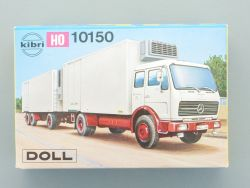 Kibri 10150 MB Kühlkofferzug DOLL Hängerzug LKW Kit 1:87 H0 OVP