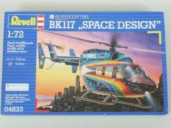 Revell 04833 Eurocopter BK117 Space Design 1:72 MIB NEU! OVP