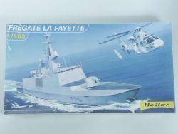 Heller 81035 Fregatte La Fayette 1/400 Model Kit MIB NEU! OVP