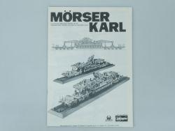 Hasegawa MB-032 Mörser Karl nur Bauanleitung für Bausatz Kit