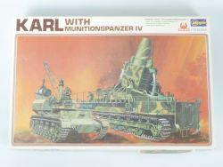 Hasegawa MB-033 Panzer Karl Bausatz Model Kit 1:72 lesen! OVP