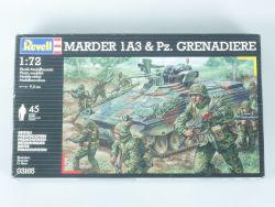Revell 03165 nur Panzergrenadiere 45 Stück für Marder 1A3 OVP