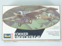 Revell H-4111 Fokker Eindecker E-III Jagdflugzeug WWI 1:72 OVP