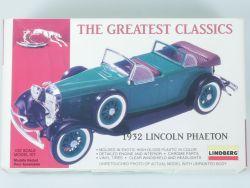 Lindberg 72403 1932 Lincoln Phaeton 1/32 Bausatz NEU! OVP