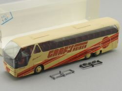 Rietze 64502 Neoplan Grafs Reisen Bus Bochum Essen Herne H0 OVP
