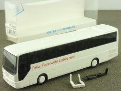 Rietze 63528 MAN Lion´s Star A03 Bus Feuerwehr Ludersheim NEU! OVP