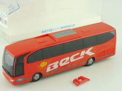 Rietze 63822 MB Travego Reisebus Beck Rastatt 1:87 H0 NEU! OVP
