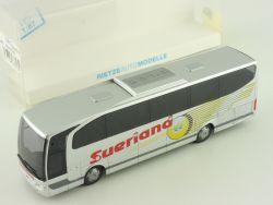 Rietze 63823 MB Travego Reisebus Suerland Borchen-Etteln NEU OVP