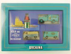 Brekina 4711 Set Köln und Kölnisch Wasser VW T1 Blitz NEU! OVP