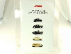 Wiking 99002 Taximodelle von 1947 bis Heute VW BMW Opel NEU! OVP