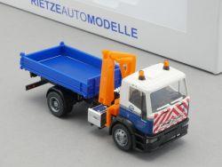Rietze 60631 Iveco Eurotec Electrabel Brüssel LKW selten! OVP