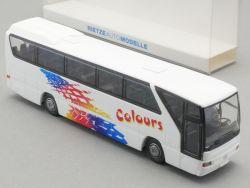 Rietze 61264 MB Tourismo Omnibus Vorführlack Colours 1:87 NEU! OVP