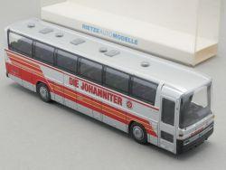 Rietze 60212 MB O 303 15 RHD Omnibus Die Johanniter 1:87 NEU OVP