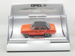 Schuco Opel Ascona A '70 Car Collection Werbemodell 1:43 TOP OVP