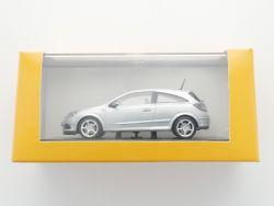 Minichamps Opel Astra H  GTC Werbemodell grau 1:43 TOP! OVP SG