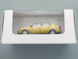 Schuco Opel Vectra C Stufenheck Werbemodell gold-metallic NEU OVP