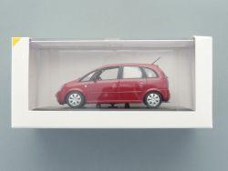 Minichamps Opel Meriva Werbemodell rot metallic 1:43 TOP! OVP SG