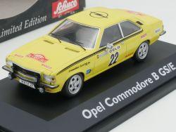 Schuco 02776 Opel Commodore B GS/E Röhrl Berger 1:43 TOP OVP