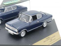 Vitesse Opel Kadett B Coupe Modellauto 1966 Dark Blue Blau OVP