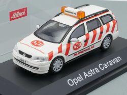 Schuco Opel Astra Caravan Pannenhilfe AVD Modellauto 1:43 TOP OVP