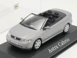Minichamps Opel Astra G Cabrio silber Werbemodell 1:43 TOP! OVP