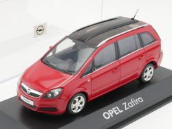 Minichamps Opel Zafira B rot Werbemodell Van 1:43 TOP! OVP