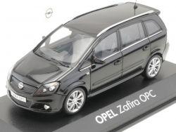 Minichamps Opel Zafira B OPC schwarz Werbemodell 1:43 TOP! OVP