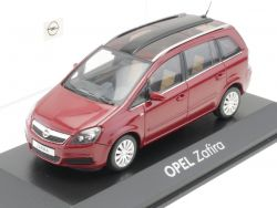 Minichamps Opel Zafira B rot Werbemodell 1:43 TOP! OVP