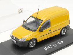 Minichamps Opel Combo Kastenwagen gelb Werbemodell 1:43 TOP! OVP