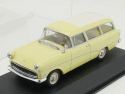 Minichamps 430043210 Opel Olympia Rekord P1 Caravan gelb 1:4 OVP