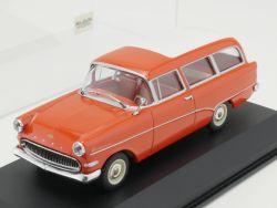 Minichamps 430043212 Opel Olympia Rekord P1 Caravan rot 1:43 OVP