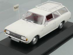 Minichamps 430 040211 Opel Rekord C Caravan weiß 1966 1:43 OVP