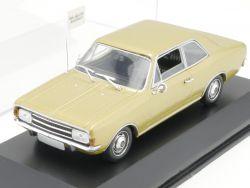 Minichamps 430 046101 Opel Rekord C Limousine gold 1966 1:43 OVP