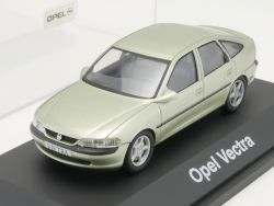 Schuco Opel Vectra B Limousine grün Werbemodell 1:43 TOP! OVP