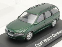 Schuco Opel Vectra B Caravan grün Modellauto 1:43 TOP! OVP