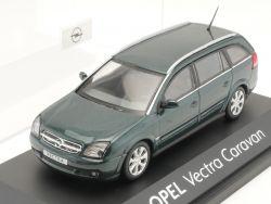 Schuco Opel Vectra C Caravan Werbemodell grün 1:43 TOP! OVP